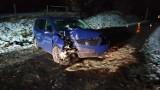 Wypadek na drodze powiatowej między Turskiem a Darnowem