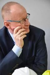 Dyrektor Krzysztof Kurowski żegna się ze szpitalem. Był to dla niego czas intensywnej pracy