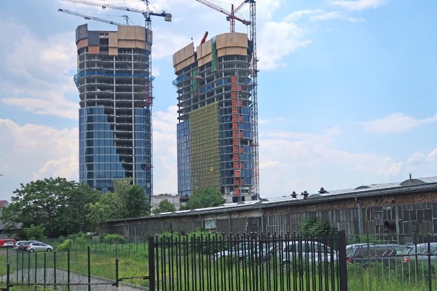 Global Office Park w Katowicach w czerwcu 2021