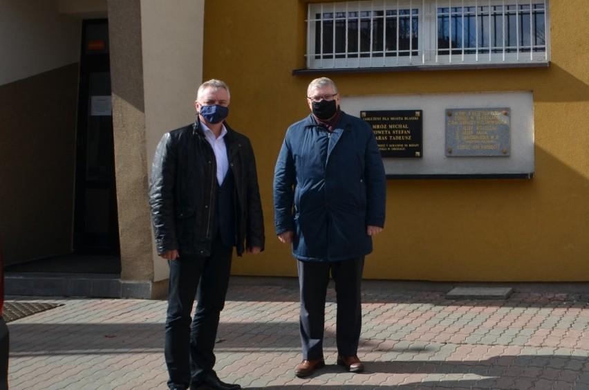 Marszałek województwa wielkopolskiego w Błaszkach