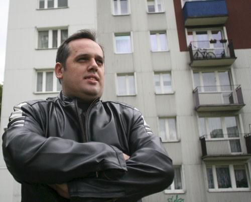 Piotr Smętek od lat współpracuje z rozbarskim komisariatem i aktywizuje mieszkańców dzielnicy