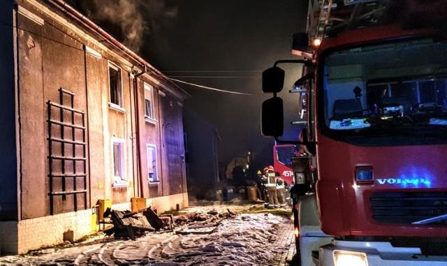 W pożarze przy ulicy Sienkiewicza pani Krystyna straciła cały swój dobytek i zdrowie. Doznała poważnych oparzeń, przed nią wiele miesięcy leczenia