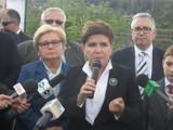 Beata Szydło w Świętochłowicach: zajmiemy się sprawą stawu Kalina