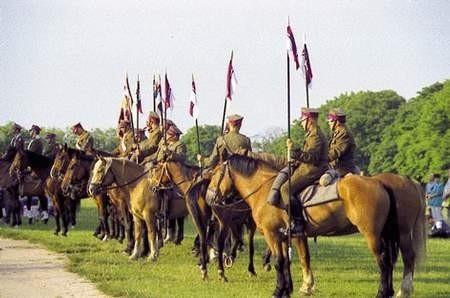 Kawalerzyści pielgrzymowali na Jasną Górę 11 dni. Szwadron stanowiły 33 osoby.