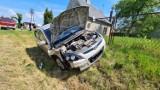 Groźne zderzenie auta i ciągnika rolniczego w Sękowie [FOTO]