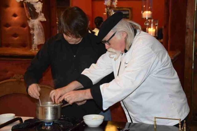 W niedzielę (13 marca) w gorzowskim hotelu Fado odbyło się wspólne gotowanie z mistrzem kuchni Kurtem Schellerem.