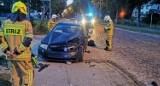 Wypadek w Jastrzębiej Górze: zderzenie dwóch osobówek. Kompletnie pijany 54-latek usiadł za kierownicą | NADMORSKA KRONIKA POLICYJNA