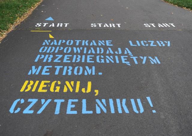 Nowa Wspólna Wilda: Literacka trasa biegowa w parku Jana Pawła II