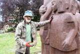 Kończy się odnawianie pomnika Janusza Korczaka w Zielonej Górze. Zobacz, jak teraz wygląda