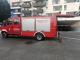 Bydgoszcz. Strażacy z Fordonu potrzebują pomocy przy naprawie dachu. Ulewa zalała ich remizę