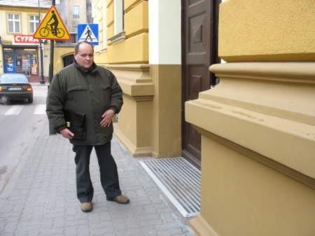 Roman Lipski z Czerska ostatni raz blokował drogę w listopadzie minionego roku.