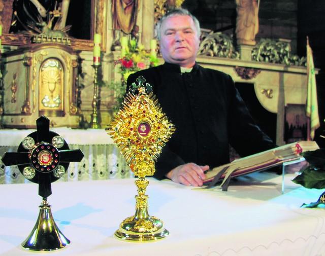 Relikwia jest już w kościele pw. Św. Trójcy