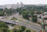 Trwa budowa ścieżki rowerowej wzdłuż Chorzowskiej w Katowicach ZDJĘCIA