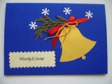 Kartki świąteczne ręcznie robione - czyli moje hobby.