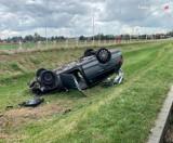 Tragiczny wypadek w Tychach. 39-latek nie żyje. Jego 6-letni syn trafił do szpitala [ZDJĘCIA]