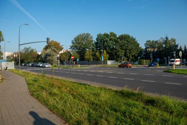 Przebudowa skrzyżowania w Wilanowie