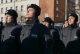 Ślubowanie policjantów w Katowicach. Wkrótce rozpoczną służbę w śląskim garnizonie policji ZDJĘCIA