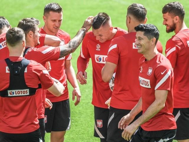 Trening reprezentacji Polski na stadionie w Gdańsku (17.06.2021)