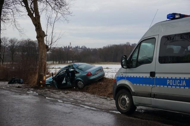 Wypadek w Wieszowie