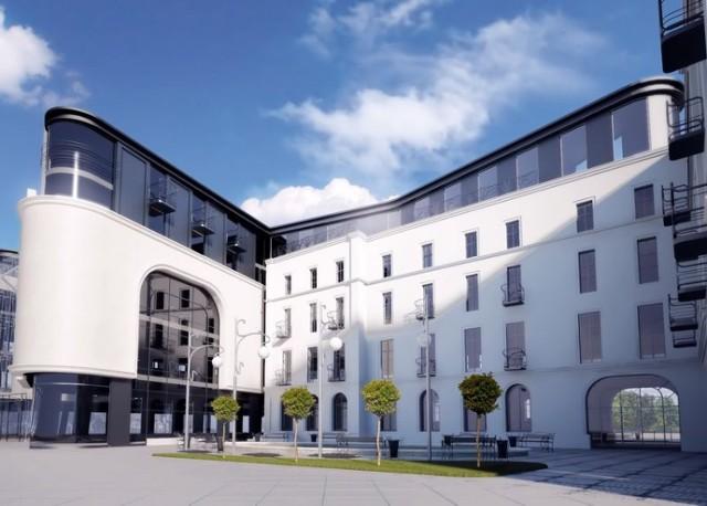 To zdecydowanie jedna z najbardziej spektakularnych wizji, jaka miała powstać w Legnicy. Po cichu wciąż liczymy, że zostanie zrealizowana.   -  Poprzez adaptację budynków poprzemysłowych, planujemy realizację mieszkań typu loft, o powierzchni do sprzedaży ok. 4 600 m2 - informowała firma.  Jednocześnie miał powstać obiekt apartamentowo – biurowy o powierzchni 15.268 m2.