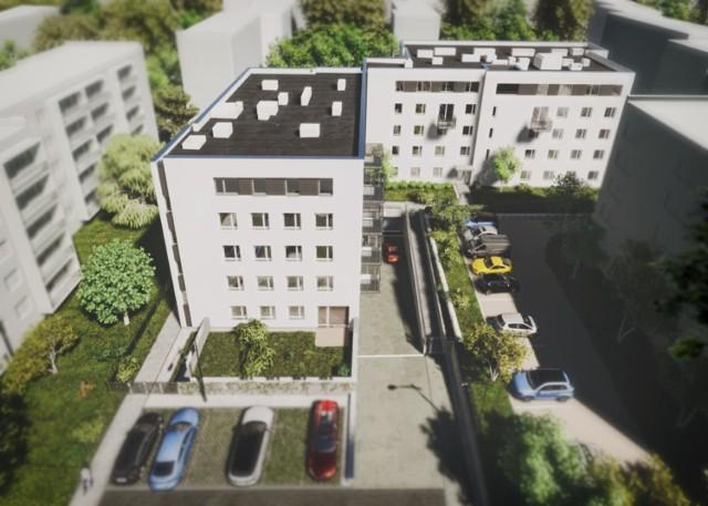 Tam ma wyglądać nowy blok, budowany już pomiędzy ulicami Matejki i Akacjową w Goleniowie