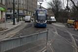 Pierwsze tramwaje przejechały przebudowaną ulicą Basztową
