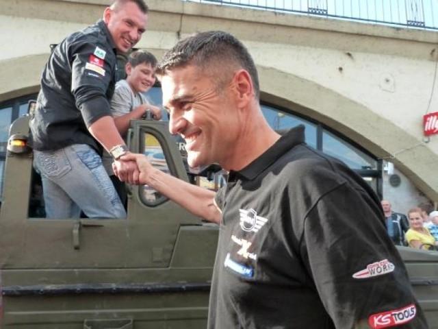 W ub.r. gościem imprezy był m.in. znany kierowca rajdowy Krzysztof Hołowczyc