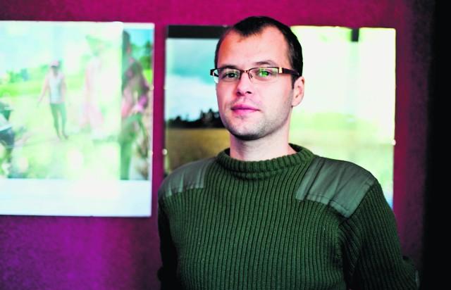 """W czasie wyprawy prowadził bloga, który dalej """"wisi"""" w sieci pod adresem  http://gostrega.blogspot.com"""
