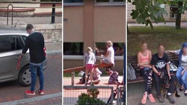Street View - opcja w mapach Google, która pozwala obejrzeć rzeczywiste zdjęcia ulic zrobione przez pojazdy firmy-giganta. Spora część z nas nie wyobraża sobie bez map Google życia. Jest to jedna z najpopularniejszych i najbardziej użytecznych aplikacji na świecie.   Kamera Street View fotografuje oczywiście przede wszystkim ulice, ale często w jej obiektyw siłą rzeczy wchodzą też... sami mieszkańcy. Google używa co prawda automatycznego algorytmu rozmazującego twarze, ale rozpoznanie się na fotografiach i tak nie powinno sprawić dużego problemu.   Jesteście na nich? A może sfotografowani zostali Wasi znajomi? Sprawdźcie >>>