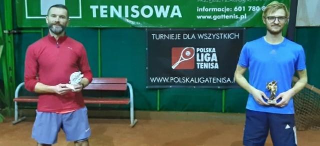 Adam Michalski w 2020 roku zagrał w trzech finałach turniejów Polskiej Ligi Tenisa