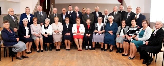 Nagrodzono małżeństwa z terenu gminy Spytkowice z najdłuższym stażem