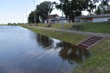 Poziom wody w Odrze nadal rośnie. Port w Krośnie Odrzańskim znów zalany. Coraz bliżej stanu alarmowego?