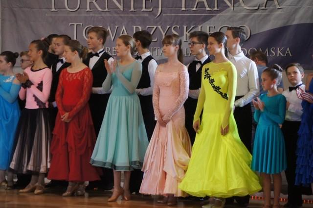 V Turniej Tańca Towarzyskiego Etiuda Radomsko 2019 rozpoczęty