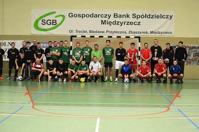 Turniej Halowej Piłki Nożnej zorganizowany przez Deltę Smardzewo w Brójcach Lubuskich