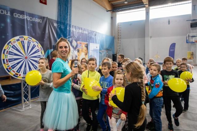 Na uczestników Festynu Europejskiego, który zorganizowano w kampusie WSG, czekało mnóstwo atrakcji.