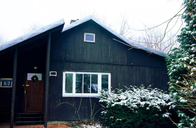 Okradziono domek fiński w Jazdowie. Miała z niego korzystać warszawska młodzież [zdjęcia]