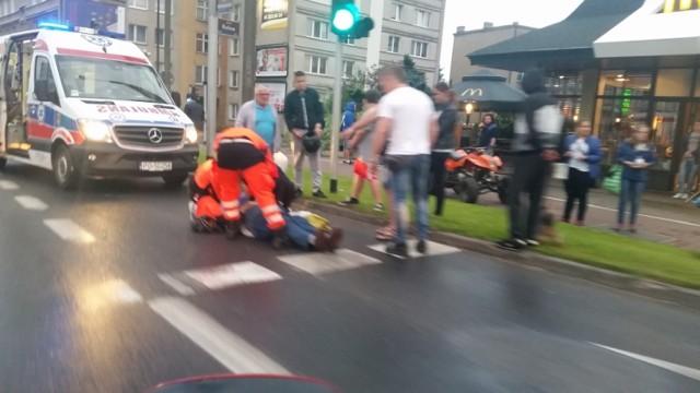 Do wypadku doszło około godziny 20:30 przy skrzyżowaniu Hetmańskiej z Rolną.