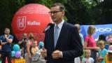 Premier Mateusz Morawiecki w Kaliszu. Znamy koszty pikniku z udziałem szefa rządu