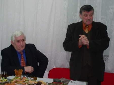 Czesław Janke i Marian Kuten chcą zjednoczenia całej lewicy. Fot. Leszek Literski