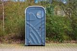 Jeszcze w kwietniu br., w parku Jagiellońskim, ZUK Stargard ustawi przenośną toaletę