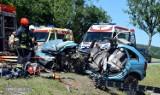 Dolny Śląsk. Masakra na krajowej ósemce. Zobacz zdjęcia z wypadku