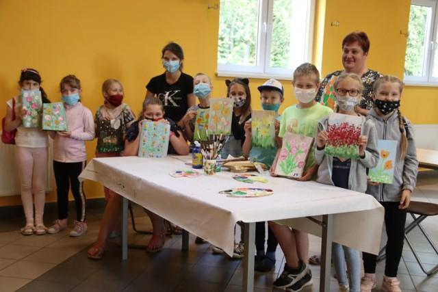 W zajęciach wzięły udział dzieci z gminy Aleksandrów Kujawski.