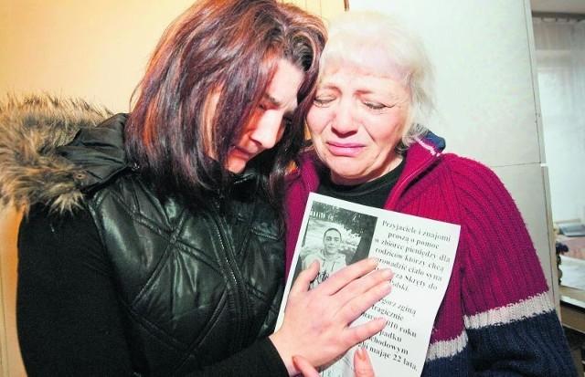 Alina, mama Grzegorza, i jego siostra Edyta wciąż nie mogą uwierzyć, że chłopak nie żyje