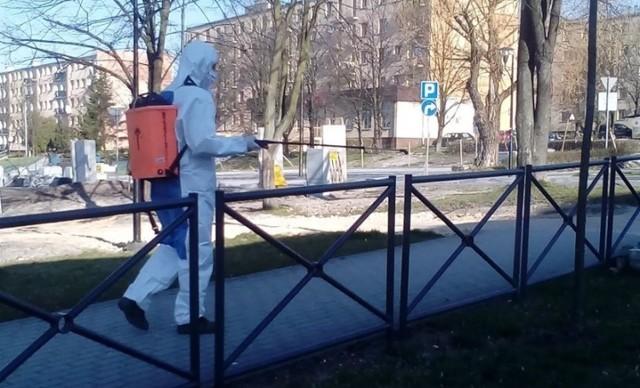 Rozpoczęła się dezynfekcja w gminie Busko - Zdrój.