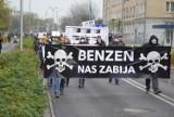 Blisko pół tysiąca osób protestowało w Kędzierzynie-Koźlu. Mieszkańcy sprzeciwiali się emisji benzenu do atmosfery [WIDEO, ZDJĘCIA]