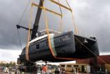 Pierwszy model 70 Sunreef Power zwodowany. Stocznia Sunreef Yachts z Gdańska planuje testy nowego katamaranu