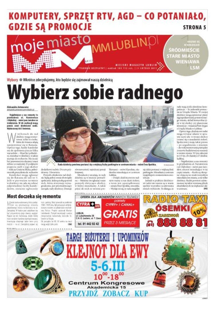 W Czwartek 24 Lutego W Papierowym Wydaniu Mm Moje Miasto Lublin