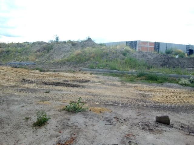 Zasypane pozostałości klasztoru w Błoniu