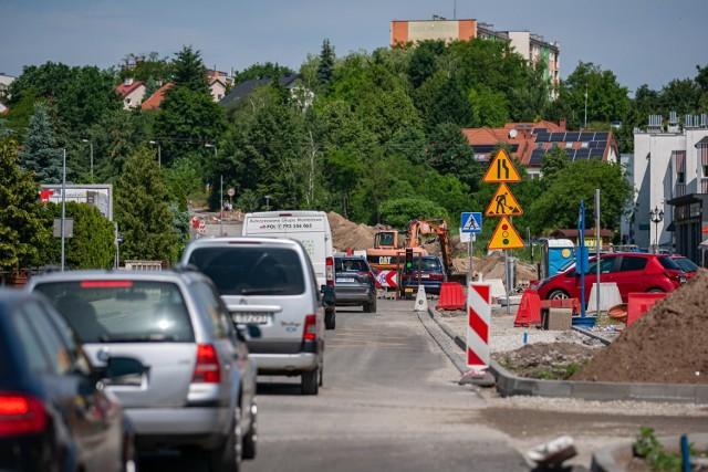 Ulica Kolbego na Osowej Górze zostanie oddana do użytku pod koniec listopada tego roku.