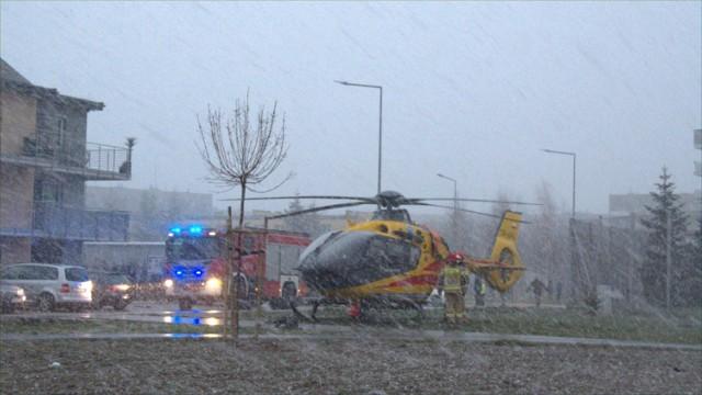 Śmigłowce Lotniczego Pogotowia Ratunkowego zostały uziemione w Świebodzicach i Boguszowie Gorcach